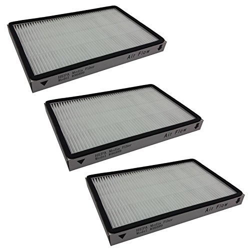 MAYITOP 3Pack HEPA Filter for Kenmore 4370417, 20-86889, KC38KCEN1000 Exhaust Vacuum