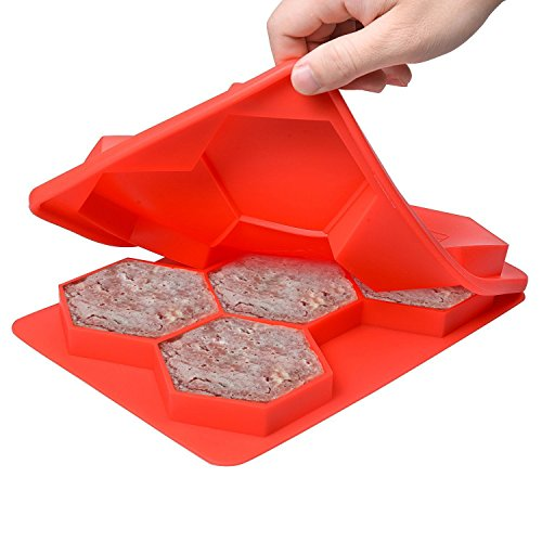 Augymer Silicone Hamburger Non Stick Container product image