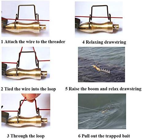 Putuio Fishing Bait Retriever Kits Seeker Lure Saving Tackle Anti-rust Portable Accessories