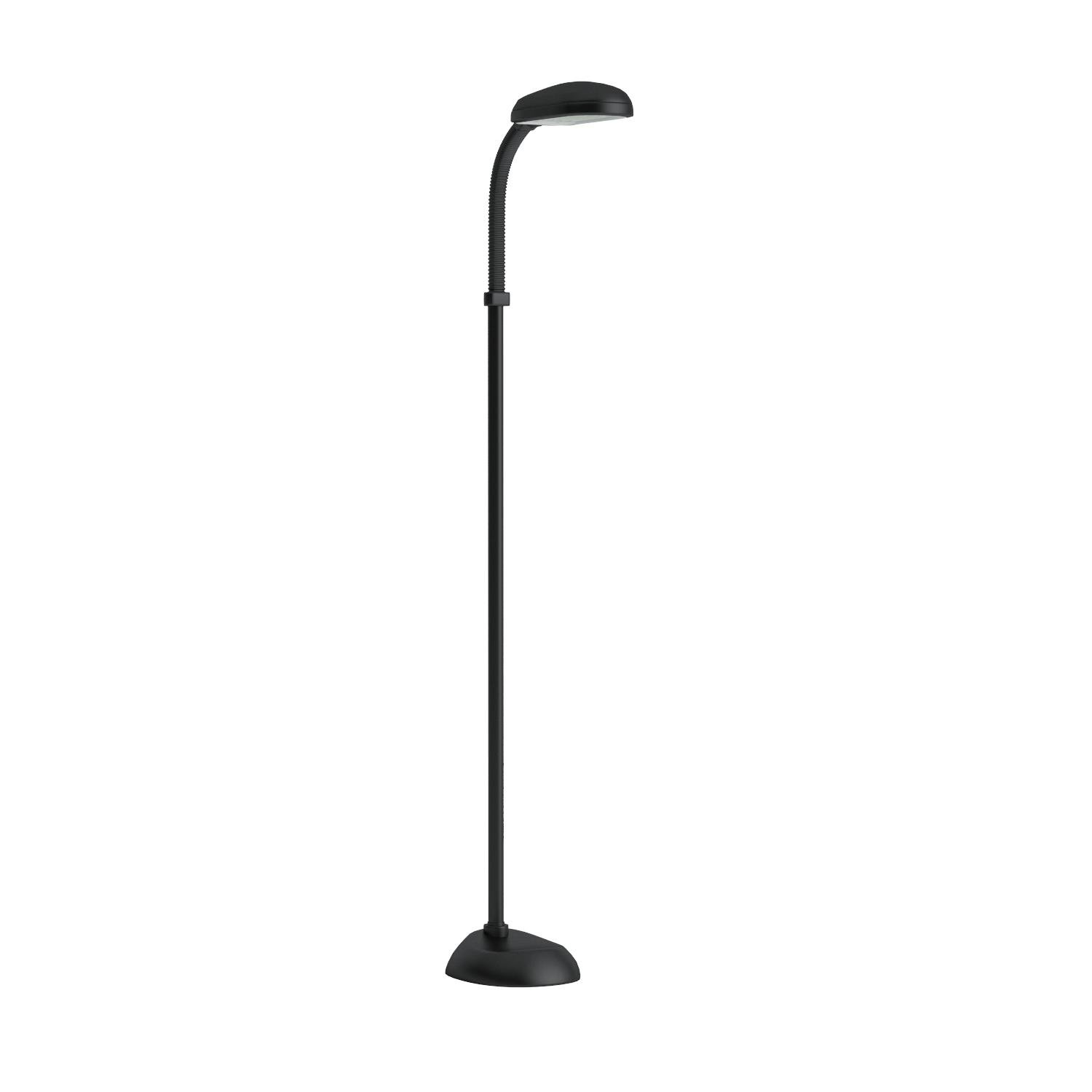 Lavish Home (72-0890) 5 Feet Sunlight Floor Lamp With Adjustable Gooseneck - Black by Lavish Home (Image #7)