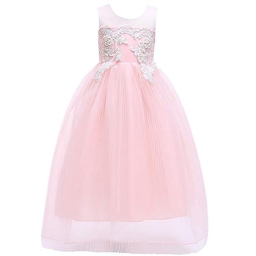 Vestido de novia de niña Vestido esponjoso Vestido para niños ...