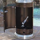BELLEZE 014-HG-PH03-BRO 48,000BTU Patio Heater with