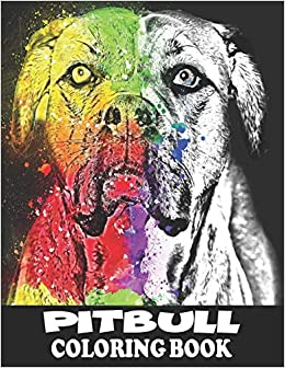 Download Coloring Book Pit Bull Coloring Page