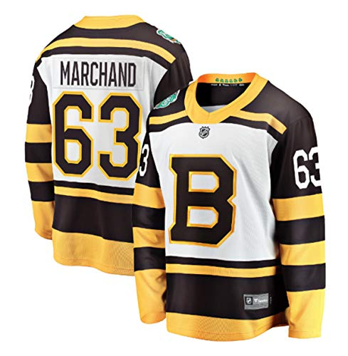 adidas Brad Marchand Boston Bruins 2019 Winter Classic Authentic Jersey (56/XXL)