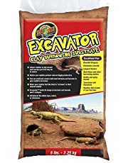 Zoo Med Laboratories XR10 Excavator Clay Burrowing Substrate, 10 Pounds