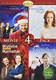 Hallmark Holiday Collection 2 (Cancel Christmas/Christmas Magic/Santa Suit/Mistletoe Over Manhattan)