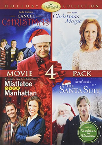 Hallmark Holiday Collection 2 (Cancel Christmas/Christmas Magic/Santa Suit/Mistletoe Over - English Dvd Magic