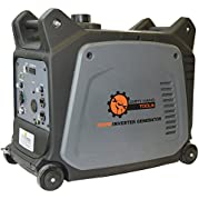 Dirty Hand Tools 104612, 2800 Running Watts/3200 Starting Watts, Gas Powered Portable Inverter Generator, EPA...