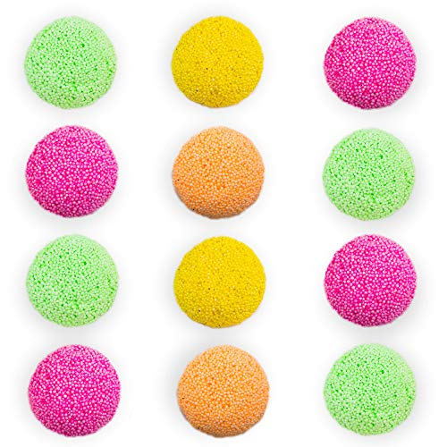 Educational Insights Playfoam Sparkle Jumbo Pod, Set of 12, Non-Toxic, Never Dries Out | Sensory, Shaping Fun, Arts & Crafts For Kids, Great for Slime, Perfect for Ages 3 and up