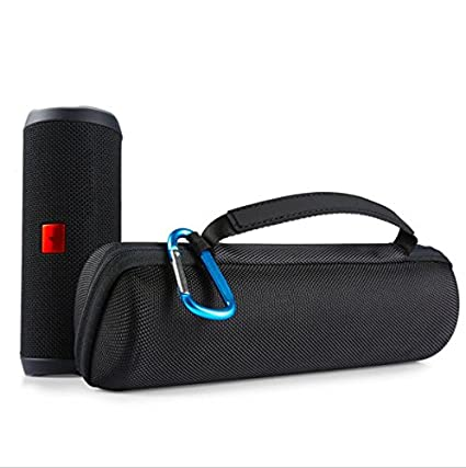 f0895a301336 Delhisalesmart Hard Travel Storage Carry Case For Jbl Flip 4, 3, 2  Waterproof Portable Outdoor Speaker Travel Case- Black(Speaker Not Included)