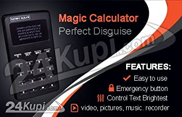 Amazon com : Magic Calculator for Cheating on Test : Electronics