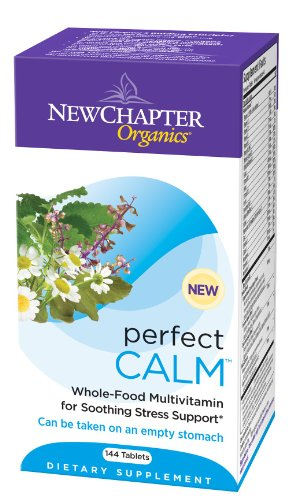New Chapter Organics, Perfect Calm Tablets, 144-Count