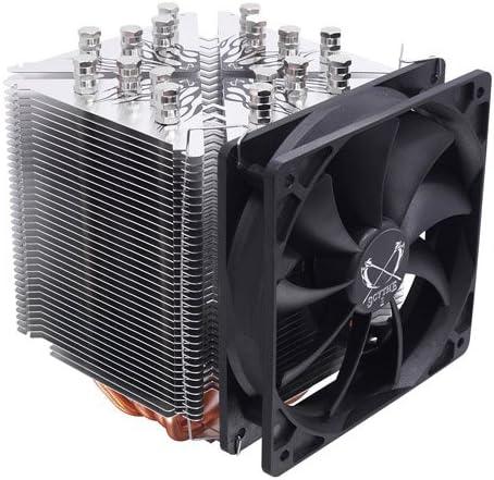 Scythe Ninja 3 Rev.B - Ventilador de CPU (Intensidad Nominal: 0.60 ...