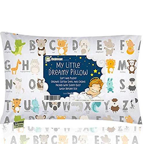KeaBabies Toddler Pillow with