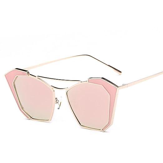 Catwalk Mädchen Bright Fashion Sonnenbrille Sonne Brille Street Druckknöpfen bis Cutesy Gläser, F