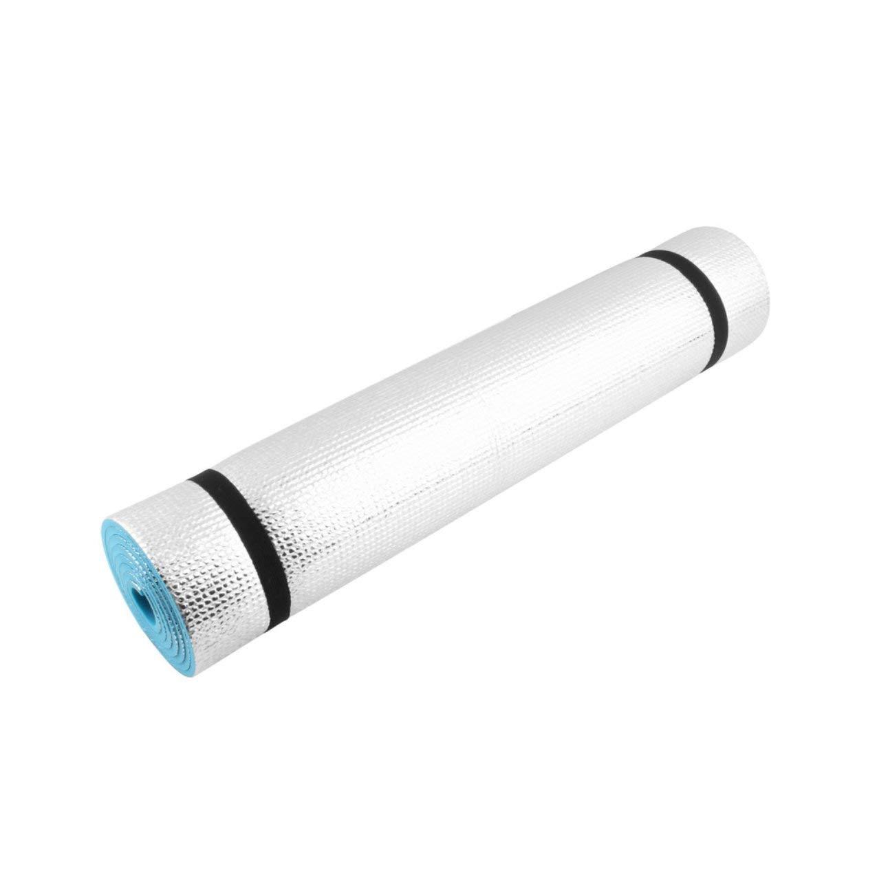 ROTstrong Isomatte, Leichte 180X60X0,6 cm Matte Waschbar Übung Fitness Pad Faltboden Spiel Kissen Universal Isomatte