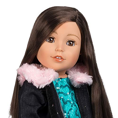 Adora Amazing Girls 18-inch Doll, Emma Sparkles (Amazon Exclusive)