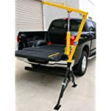 """JEGS Hydraulic Hitch-Mounted Crane 