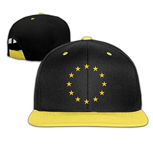 MaNeg Flag Of Europe Unisex Hip Hop Baseball Cap&Hat For - Armani.co.uk