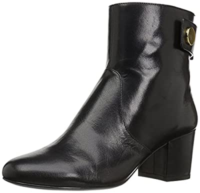 NINE WEST Women's Quarryn Leather Ankle Boot