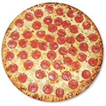 Pepperoni Pizza Delicious Food Vinyl Sticker - Car Window Bumper Laptop - SELECT SIZE