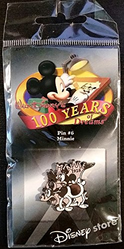 (Disney 100 Years of Dreams - BxW Minnie 1928 - Pin #6)