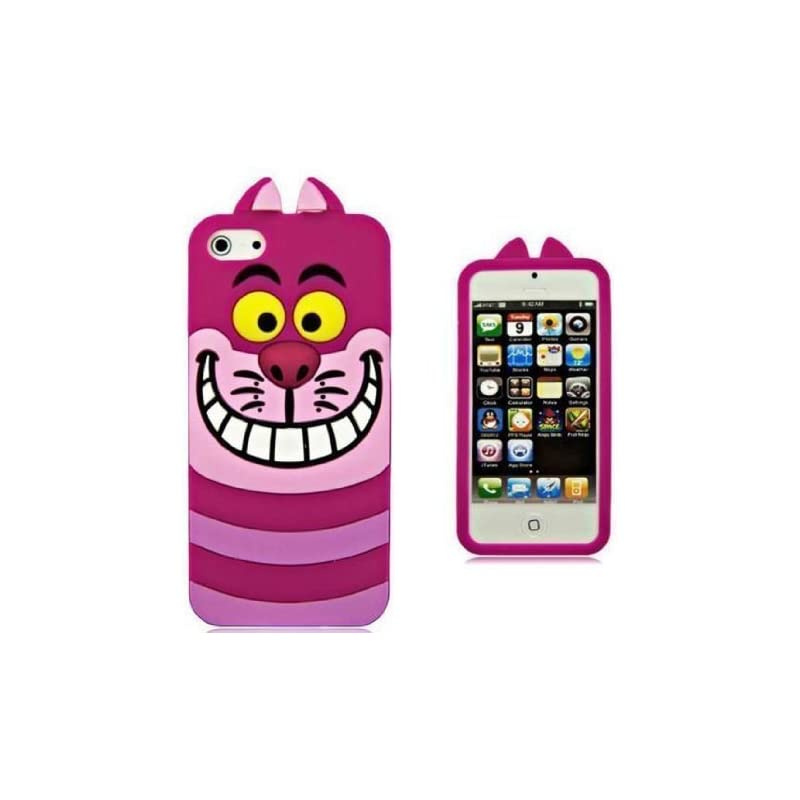 Pink Chelshire Cat Case for iPhone 5 5s