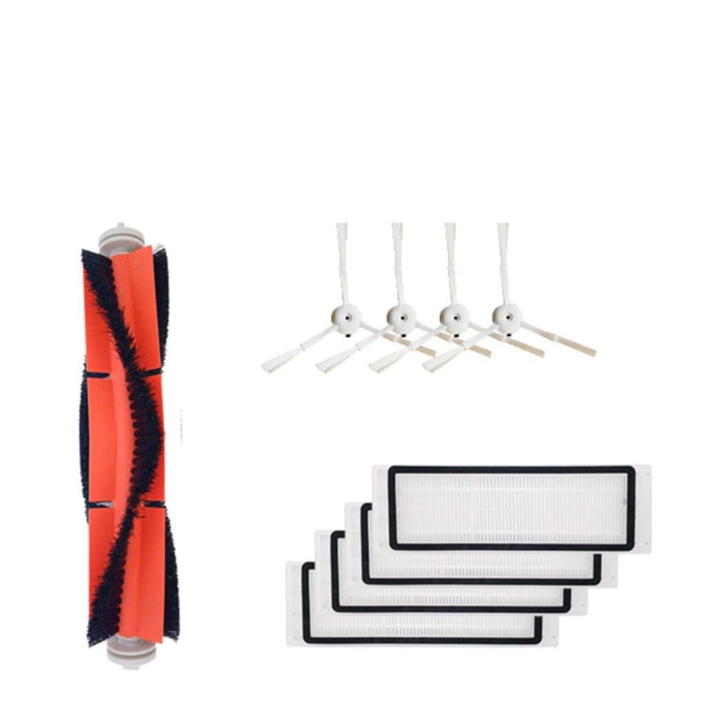 1 cepillo principal + 4 cepillos laterales + 4 filtros para ...
