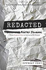 Redacted Poetry Journal: Create Blackout Poetry by Destroying the Classics Paperback