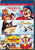 An American Tail / Balto / An American Tail: Fievel Goes West Triple Feature Film Set