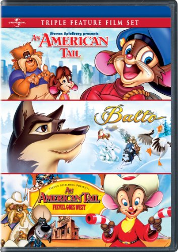 An American Tail   Balto   An American Tail  Fievel Goes West Triple Feature Film Set
