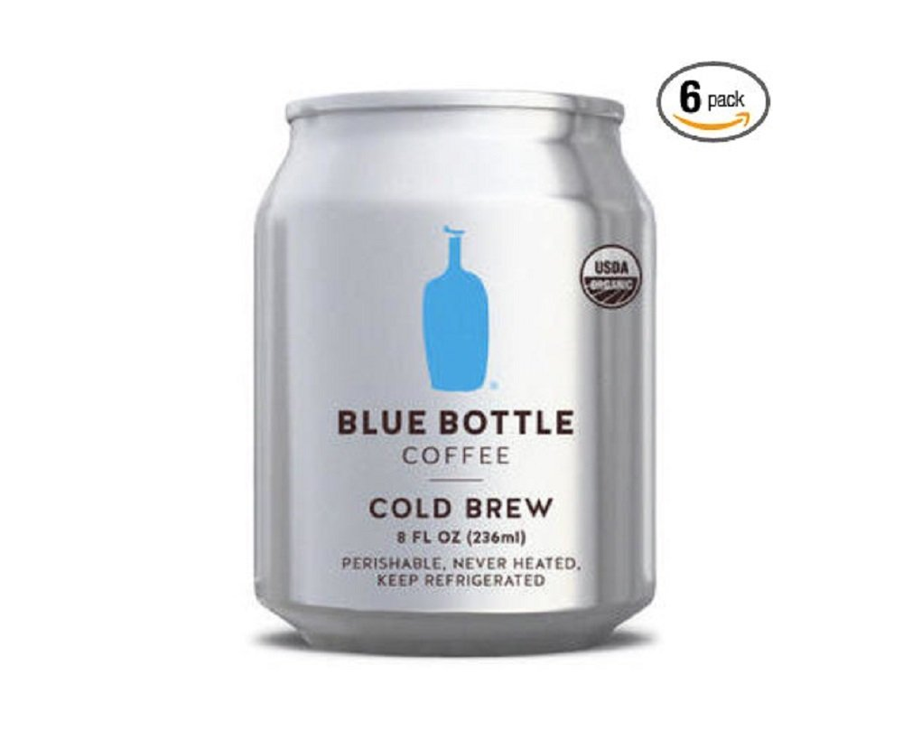 Blue Bottle Coffee - Cold Brew Coffee (6 pack) 8oz can