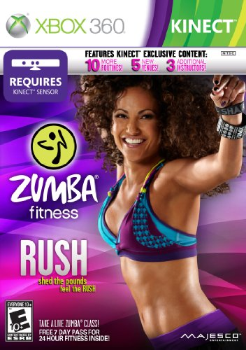 Zumba Fitness Rush - Xbox 360 (Best Xbox 360 Workout Games)