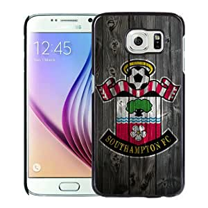 Personalized Samsung Galaxy S6 G9200 With Southhampton FC Wood Black Customized Photo Design Samsung Galaxy S6 G9200 Phone Case