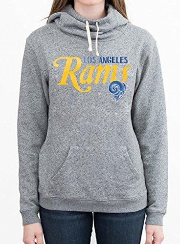 Junk Food Los Angeles Rams NFL Women's Pullover Hoodie (XLarge)