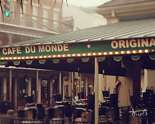 Foggy Cafe Du Monde Photograph