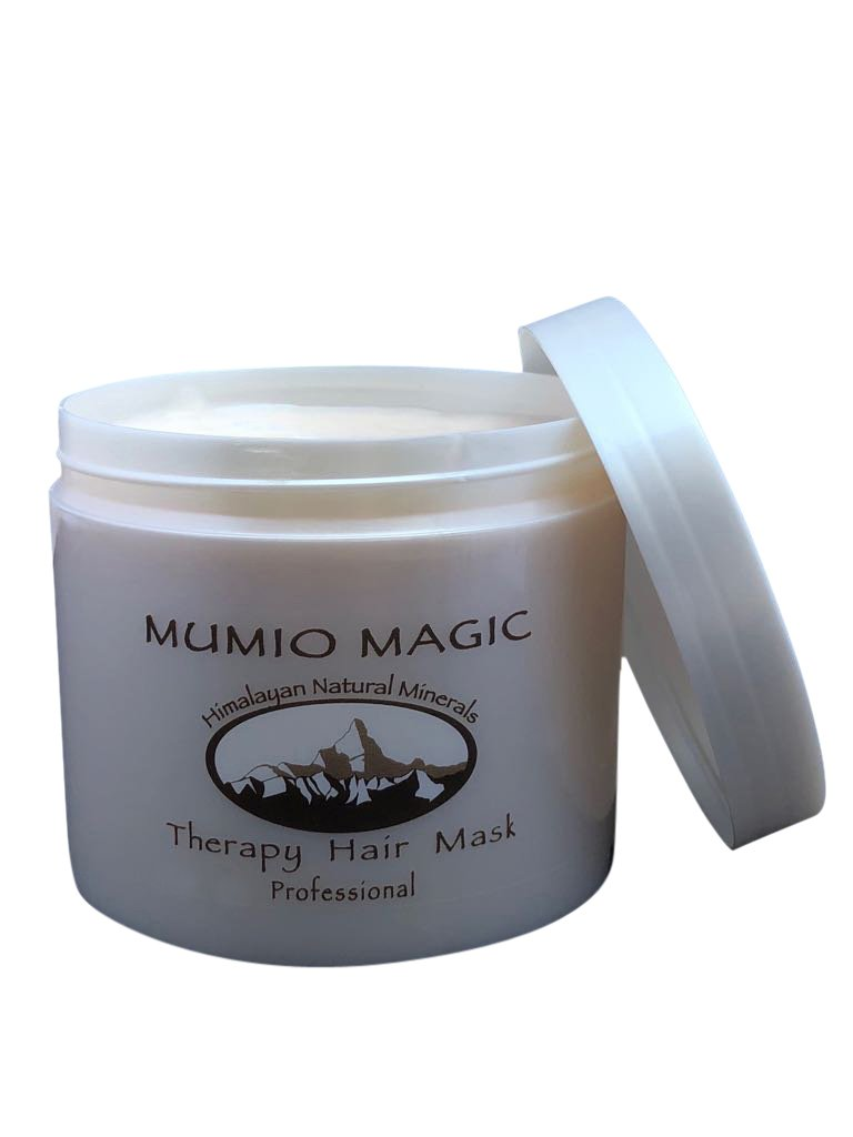 Mumio Magic Therapy Hair Mask Nature of the Himalayas Restore Nourish Repair Climate Damage Treatment 400ml 13.5fl.oz