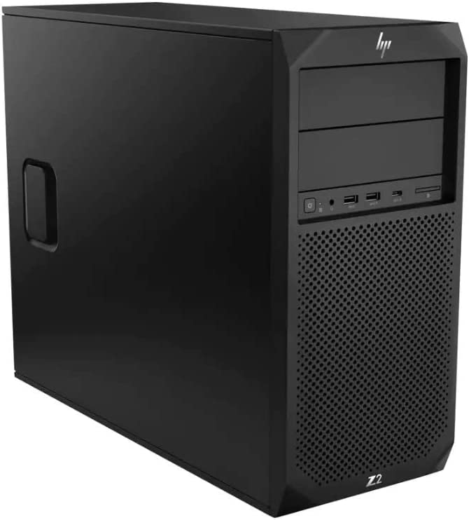 HP Z2 G4 Tower Workstation, Intel Core i7-8700, 16GB RAM, 512GB SSD, NVIDIA Quadro P1000, Windows 10 Pro (5DU92UT#ABA)