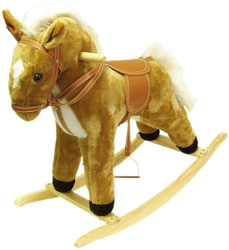 Happy Trails Plush Rocking Horse by Happy Trails