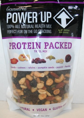 Amazon com : Gourmet Nut POWER UP - Protein Packed - Vegan