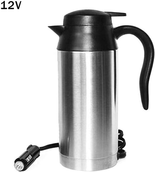 Brillie Taza de la Caldera eléctrica del Coche 12V / 24V Taza de ...