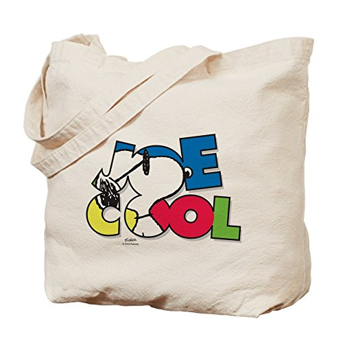 CafePress Snoopy Joe Cool - Natural Canvas Tote Bag, Clot...