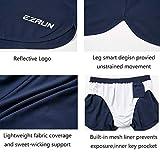 EZRUN Mens Lightweight Quick Dry Pace Workout