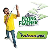 """The Incredible Flying Feather """"Falcon Wing"""" with Bungee Launcher"""