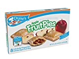 Drake's By the Case! Apple Fruit Pies, Case of 12! Freshness Guaranteed!