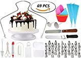Best Tools For Cakes - 69pcs Cake Decorating Supplies Bundled with 5 Silicon Review