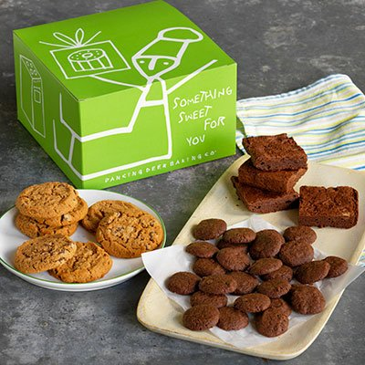 Dancing Deer Gluten-Free Fresh Baked Gourmet Cookie & Brownie Gift Box