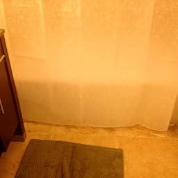 Amazon Customer Reviews Ex Cell Home Fashions Ricepaper EVA Shower Curtain White