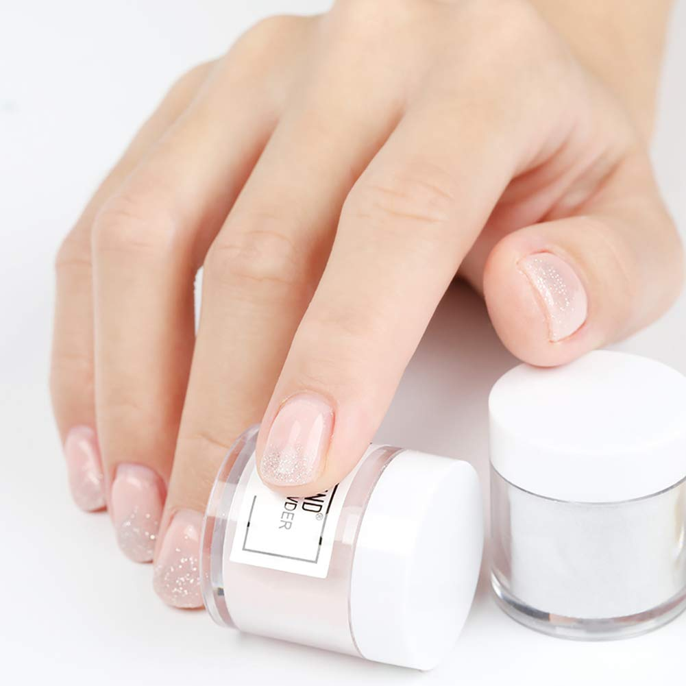 Taiguang Dipping Powder 10ml Diy Nail Art Solid Color Glitter