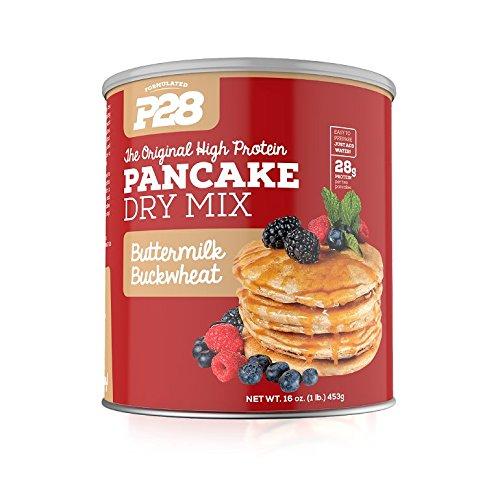 P28 Foods The Original High Protein Pancake Dry Mix, Buttermilk Buckwheat, 16 Ounce